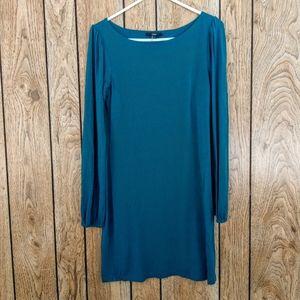 Tart Emerald Green Long Sleeve Dress